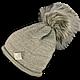 Шапочка Польского производителя ANPA двойная вязка KT 02, фото 3