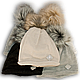 Шапочка Польского производителя ANPA двойная вязка KT 02, фото 4