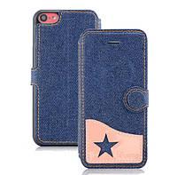 Чехол - бампер Ueme Jeans для Apple iPhone 5/5s - Pink, фото 1