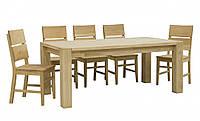 """Стол кухонный раздвижной """"Хилтон"""" порода дерева дуб."""
