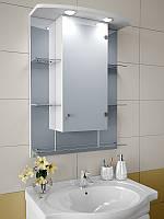 Шкаф зеркальный с подсветкой 820*600*125