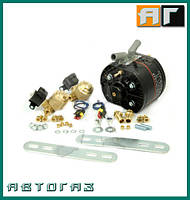 Газовый редуктор KME R2 TWIN 410 л.с. + 2 ЭМК газа OMB