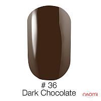 Гель-лак Naomi Gel Polish 36 - Roman Coffee, 6 мл
