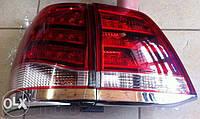 Задние фонари, тюнинг оптика Toyota Land Cruiser 200 TLC 200 стиль Lexus
