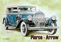 """Магніт вініловий """"Ретро автомобіль Pierce-Arrov"""" 50х70 мм"""