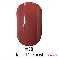 Гель-лак Naomi Gel Polish 38 - Red Damast , 6 мл