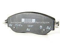 Тормозные колодки передние на Рено Трафик III 2014-> - RENAULT (оригинал) 410608638R