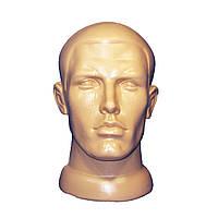 Манекен мужская голова телесного цвета, фото 1