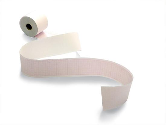 Бумага для ЭКГ, лента диаграммная рулон 50мм х 30м