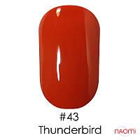 Гель-лак Naomi Gel Polish 43 - Thunderbird, 6 мл