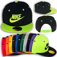 """Кепка реперка с прямым козырьком """"Nike"""""""