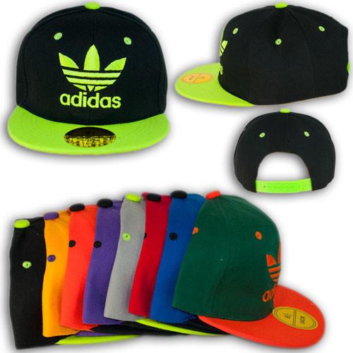 """Кепка реперка с прямым козырьком """"Adidas original"""" N6403_1"""