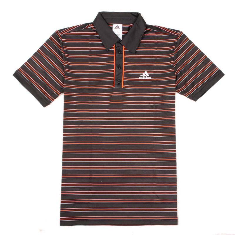 Футболка поло спортивная, мужская adidas M TS Stripe Polo X19123 адидас