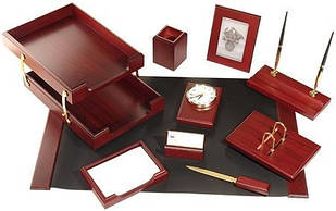 Набор настольный Bestar 0259 (10 предметов, красное дерево)