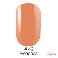 Гель-лак Naomi Gel Polish 49 - Peaches, 6 мл