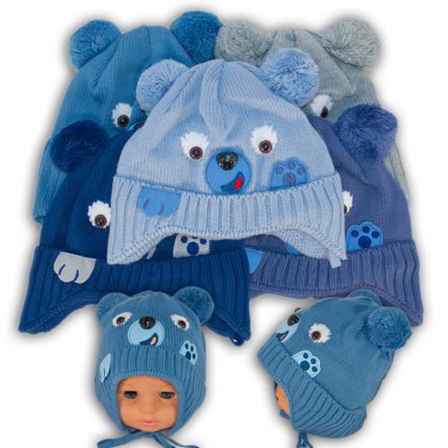 "ОПТ Шапочка для мальчика ""Bear"" (5шт/набор)"