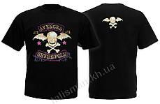 AVENGED SEVENFOLD - A7X - футболка Индия