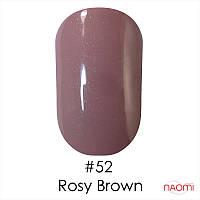 Гель-лак Naomi Gel Polish 52 - Rosy Brown, 6 мл