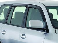 Ветровики дефлекторы дверей на Toyota Prado 120