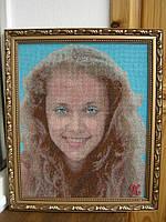 Портретная вышивка