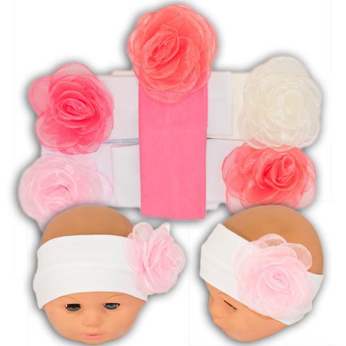 Трикотажная повязка для девочек, Y48