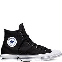 Кеды Converse All Star II High Chuck Tailor Lunarlon черно-белого цвета