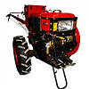 Мотоблок Forte SH-101E + почвофреза и плуг