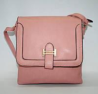 6719 розовый Сумка клатч из искусственной кожи