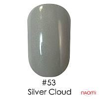 Гель-лак Naomi Gel Polish 53 - Silver Cloud, 6 мл