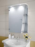 Шкаф зеркальный с подсветкой 750*550*125