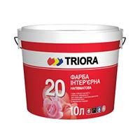 Triora 20 Акрилова стійка до миття фарба (напівматова)