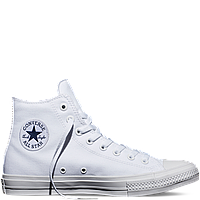 Кеды Converse All Star II High Chuck Tailor Lunarlon белого цвета