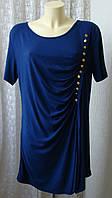 Платье женское летнее модное легкое элегантное вискоза стрейч мини бренд Alfredo Pauly р.50 6388