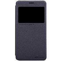 Кожаный чехол Nillkin Sparkle для Lenovo S850 чёрный