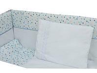 Детский постельный комплект ВЕРЕС Blue Sparks 6 единиц 151.01
