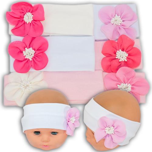 Трикотажная повязка для девочек