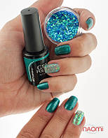 Гель-лак Naomi Gel Polish 57 - Emerald, 6 мл