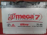 Аккумулятор автомобильный A-mega 6СТ-75 АзЕ Ultra