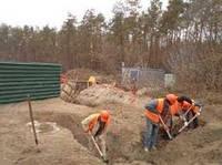 Уборка территории после земляных работ