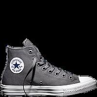 Кеды Converse All Star II High Chuck Tailor Lunarlon серого цвета