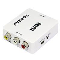 VGA+аудио в HDMI 1080p конвертер высокой четкости HDV-330