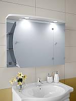 Шкаф зеркальный с подсветкой 600*800*125