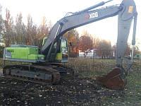 Аренда Гусеничный экскаватор 23 тонны ковш 1.1 м3 по всей Украине