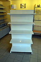 Стеллаж торговый WIKO с металлическими полками в магазин. Торговое оборудование в наличии доставка по Украине