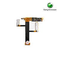 Шлейф для Sony Ericsson W350, камеры, динамика, с компонентами (оригинал)