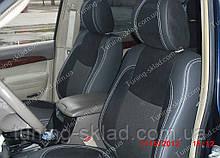 Чохли на сидіння Тойота Прадо 120 (чохли з екошкіри Toyota Prado 120 стиль Premium)