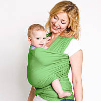 Слинг шарф Лайм - Для переноски детей, Лав & Керри Трикотажный, фото 1