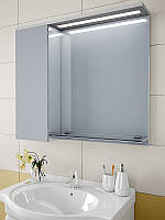 Шкаф зеркальный с LED подсветкой 700*800*150