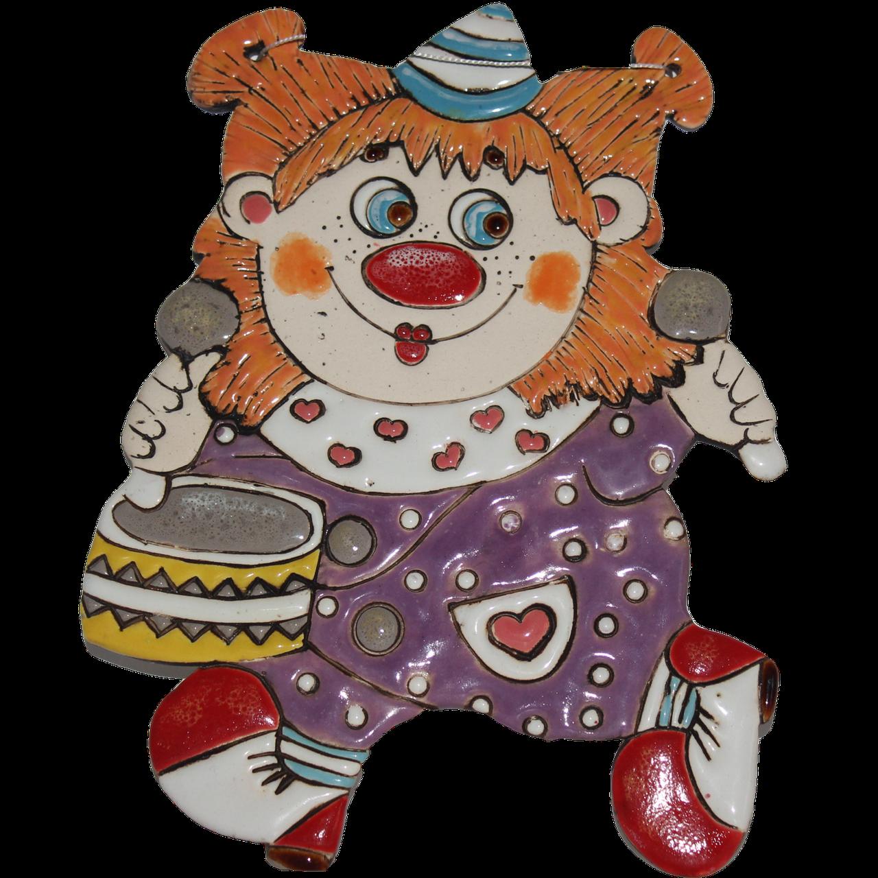 """Сувенир керамический """"Клоун Рыжик"""""""