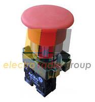 """XB2-BC42 Кнопка """"грибок"""" (d 40мм) """"Стоп"""" червона"""
